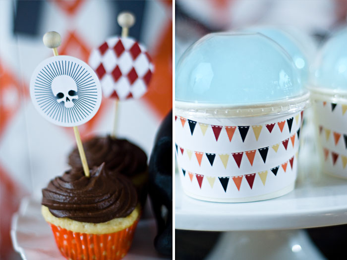 Halloween Carnival Inspired Dessert Table