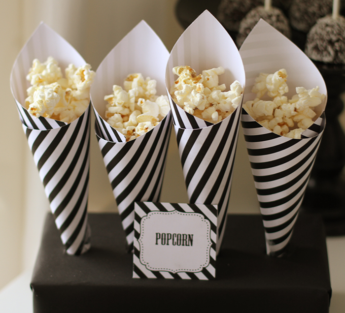 Halloween Party Ideas Halloween popcorn