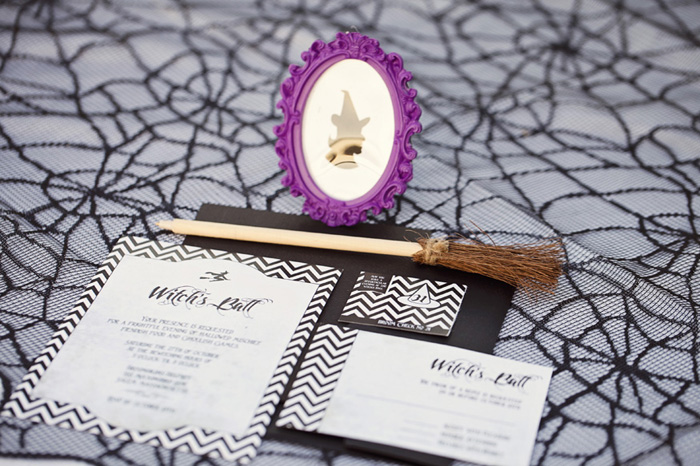 Halloween Party Inspiration Witches Ball