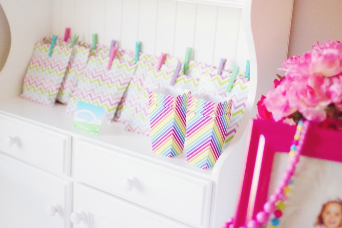 My Little Pony Party for Girls | Rainbow Favor Bags