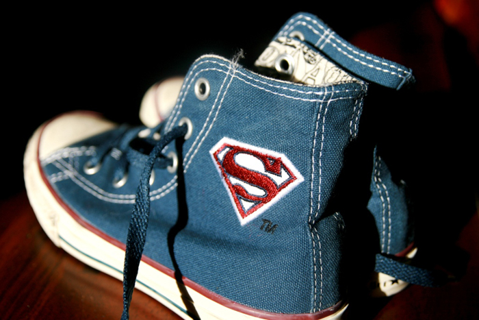 Superhero Party for Boys | Superhero Sneakers