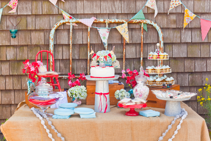 Carnival Inspired Dessert Table