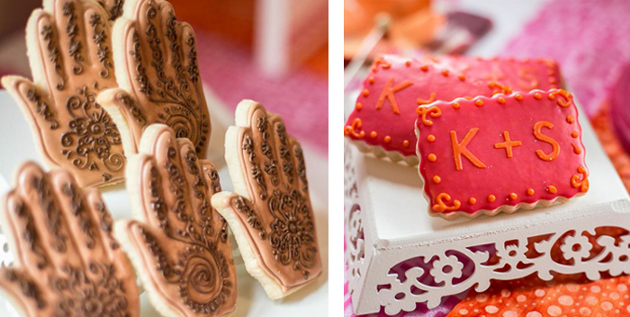 Mehndi Cake Table : Mehndi guest dessert feature amy atlas events