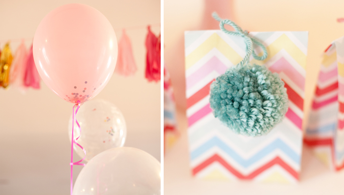 Crafting Party   Pom Pom Party Favors