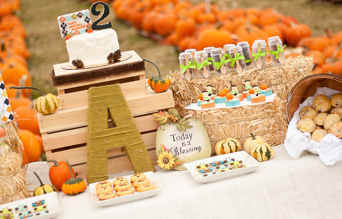 Pumpkin Party | Dessert Table