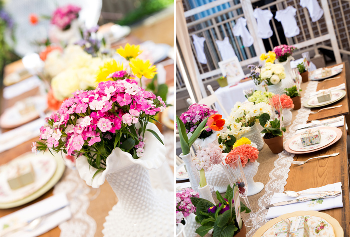 Beautiful Baby Shower | Florals