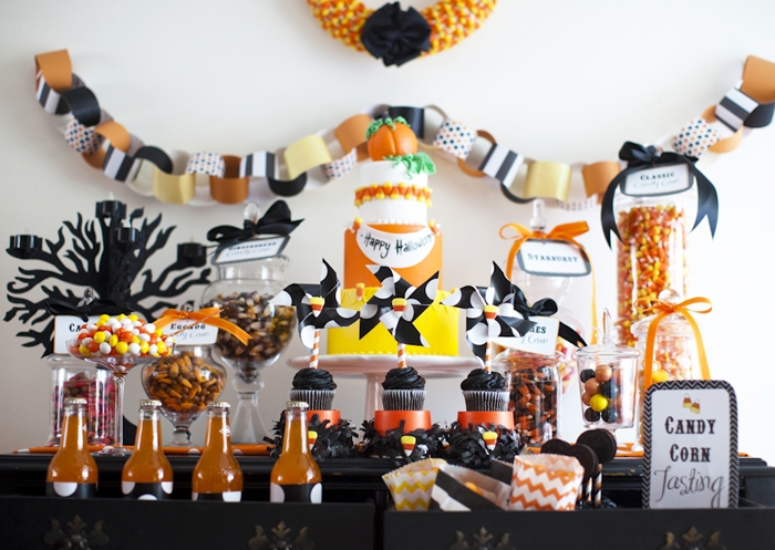 Halloween-dessert-bar
