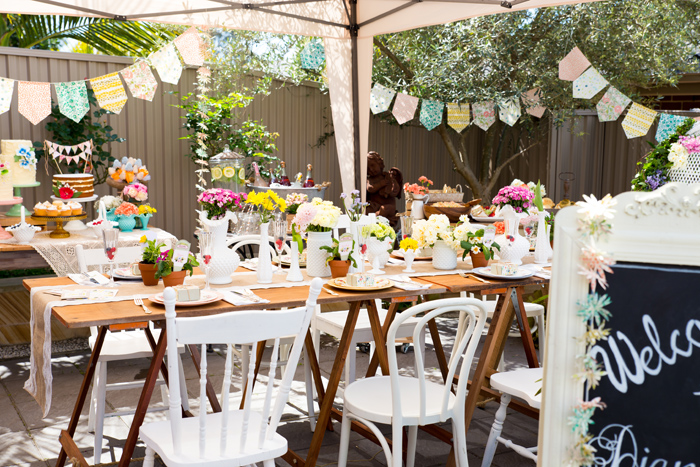 Beautiful Baby Shower | Table Decor