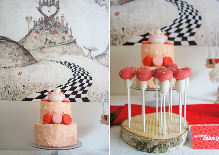 Toad-stool-cake-pops