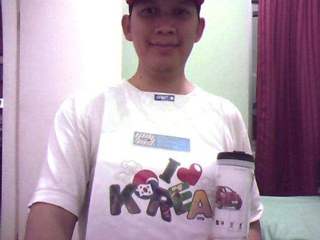 121027 - kia advocate program - qib - enrico widodo - pemenang t-shirt souvenir - received (Small)