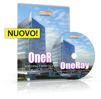 OneRay Rendering per Autodesk Revit LT e Google SketchUp