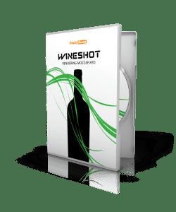 WineShot: rendering bottiglie