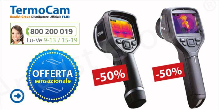 Offertissima FLIR Educational: 50% di Sconto sulle termocamere FLIR