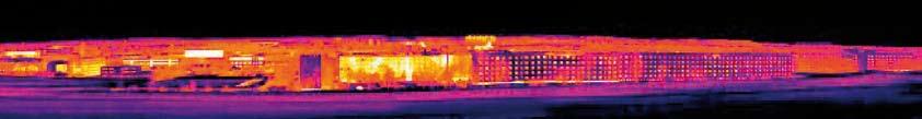 Immagine realizzata con funzione Panorama con una risoluzione di 200x150 pixel e una sensibilità termica < 70 mK.
