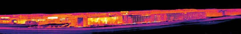 Immagine realizzata con funzione Panorama con una risoluzione di 320x240 pixel e una sensibilità termica < 50 mK.