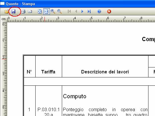 Esportare Documenti Computo E Contabilità In Word E