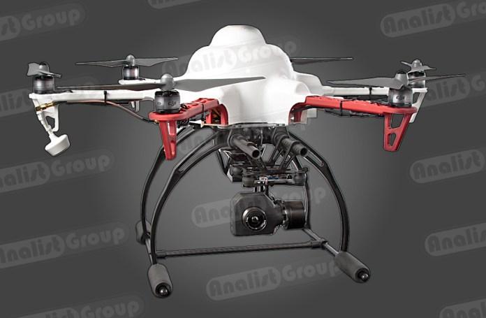 Drone Termografia F550-IR