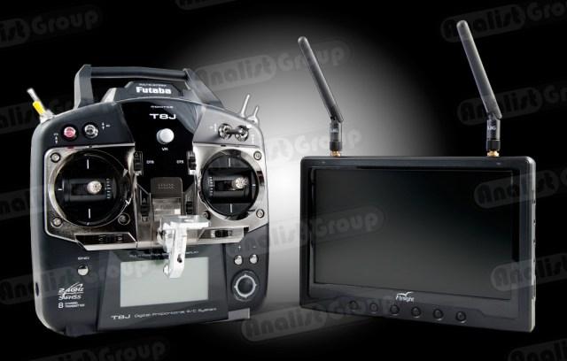 Radiocomando e Monitor F550-IR