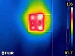 Verifica Dimmer con la termocamera FLIR C2