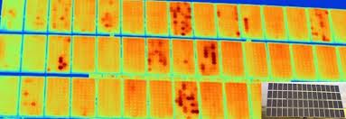 Ispezione termografica con termocamera non radiometrica su pannelli fotovoltaici