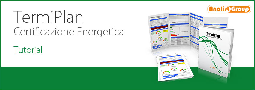 Video Tutorial TermiPlan Software Certificazione Energetica