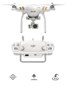 Phantom 3 volo automatico con autopilota