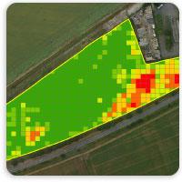 Drone per l'agricoltura di precisione