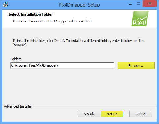 How to install and activate Pix4Dmapper