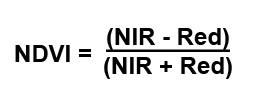 Formula NDVI