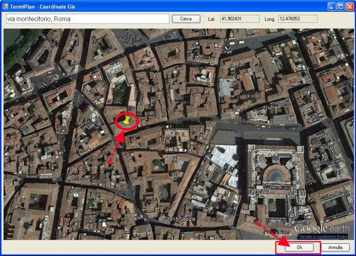 Google Earth e TermiPlan