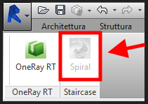 OneRay-ST button disabled