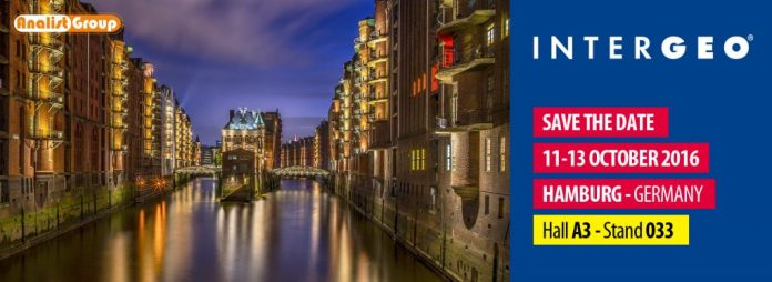 Intergeo 2016 Hamburg 11-13 October
