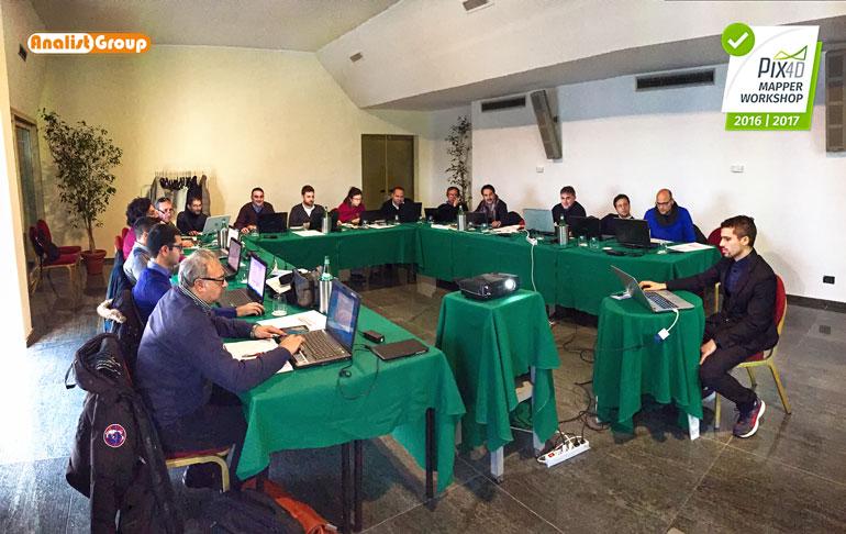 Workshop-Pix4D Palermo