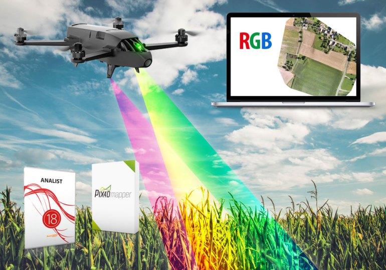 bluegrass drone agricoltura precisione italia