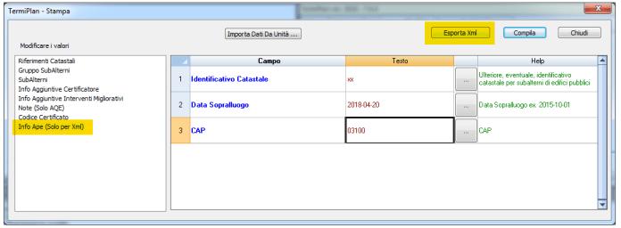 XML Lazio TermPlan