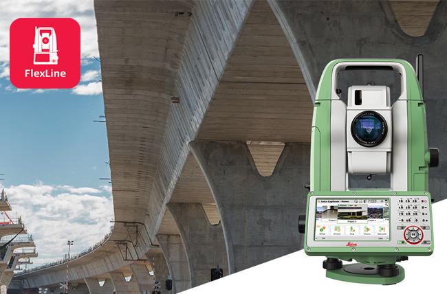 Stazione Totale Leica Geosystems