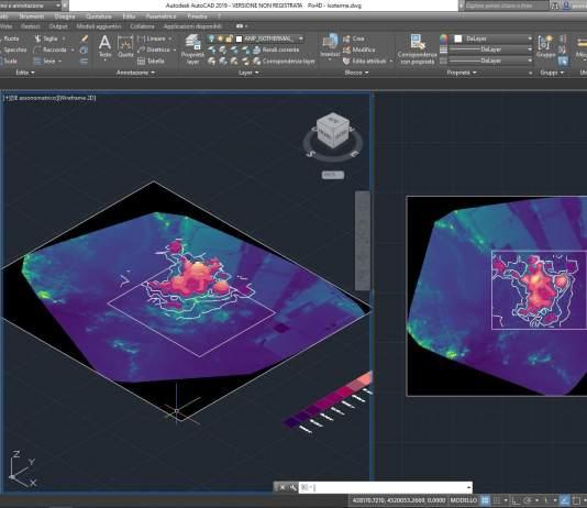 Elaborazione indici termici da Pix4D