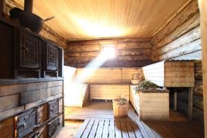 Banya Sauna Interior