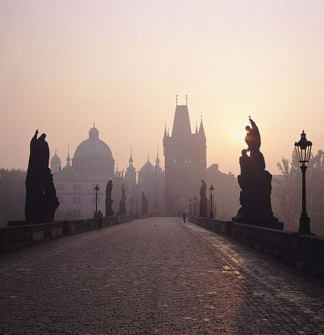 Charles Bridge is one of the most iconic sights in Prague.