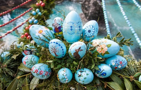 If you spend Easter in Eastern Europe, you are very likely to come across a beautifully painted egg.