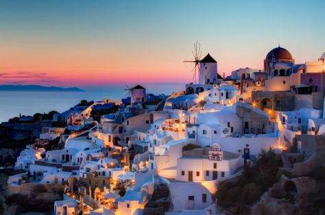 Greece is another mystery trip idea.