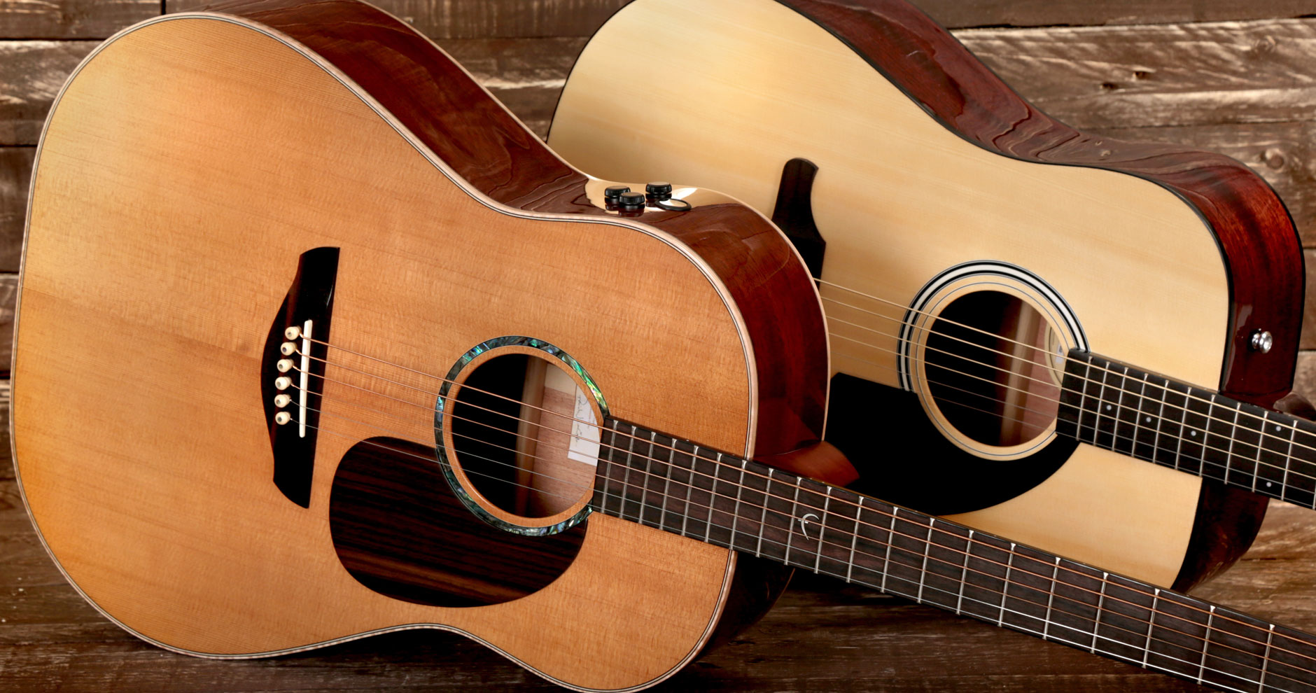 acoustic guitars solid tops