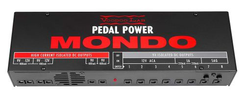 small resolution of voodoo lab mondo pedal power supply for pedalboards