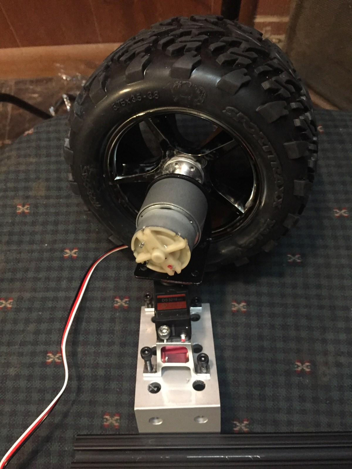 Which servo motor I'm using for my Arduino project