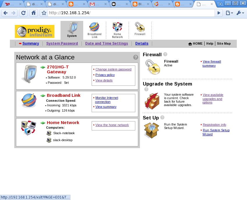 Abrir puertos en modem 2wire de Telmex