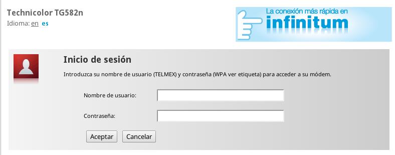Abrir puertos del modem technicolor y thomson de telmex