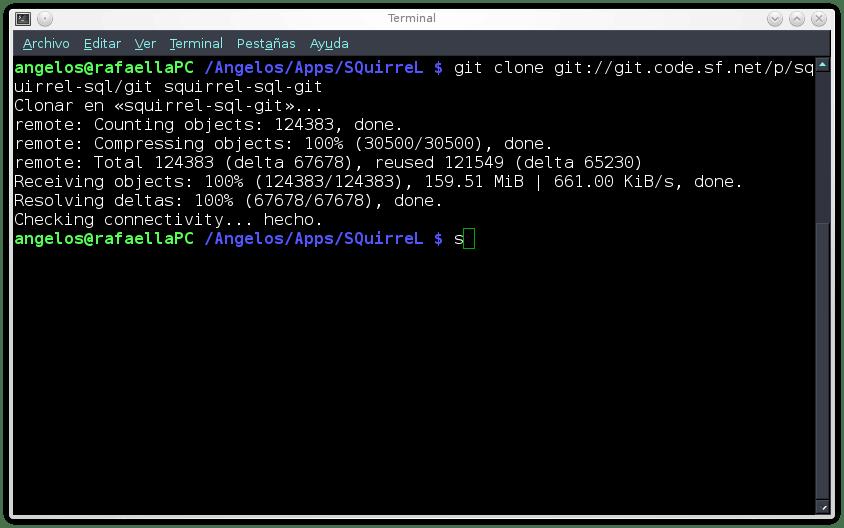 Compilar y ejecutar SQuirreL SQL en Linux
