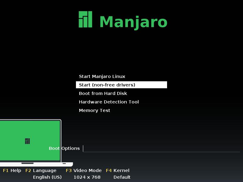 Instalar Manjaro Linux