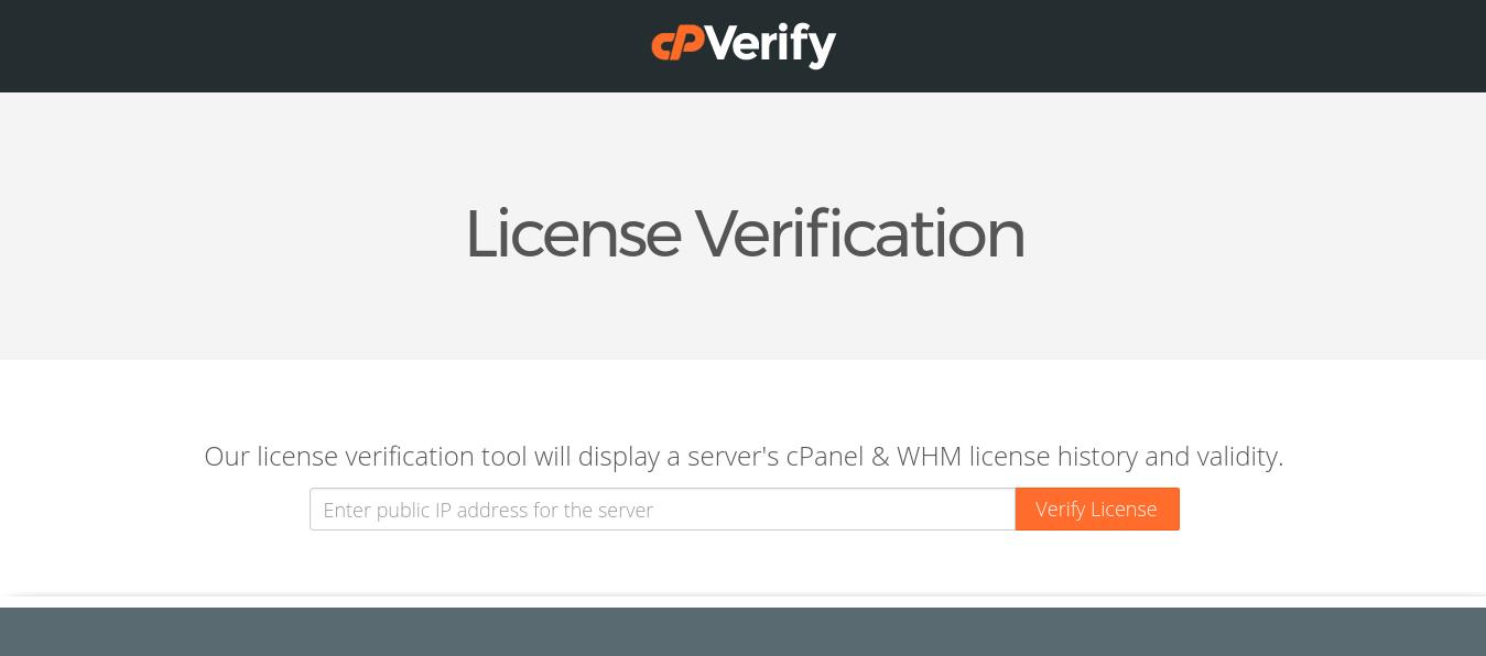 Corregir el error de cPanel cuando indica que no hay una licencia valida