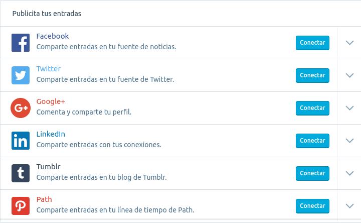 Wordpress social